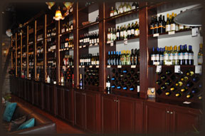 Uncorked Wine Shelves